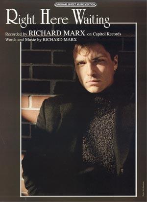 Music Richard Marx Right Here Waiting Music Blog