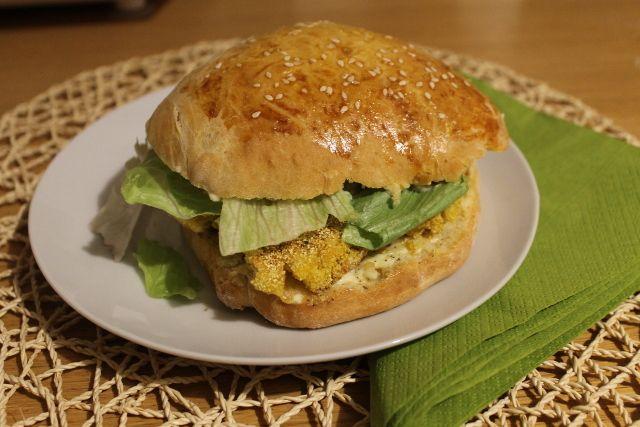 """American Burger Buns"" (panini al sesamo)"