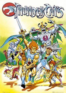 LOS THUNDERCATS Fue una serie ochentera televisiva de animación, con mezcla estilo de dibujos estadounidense (cómic) y japonés (animé y manga) que contó con dos temporadas (1985-1986 y 1986-1987) y los mismos capítulos 65 episodios.