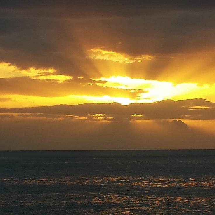 Sunrise in Marble Beach (Saliara Beach) Thassos Island