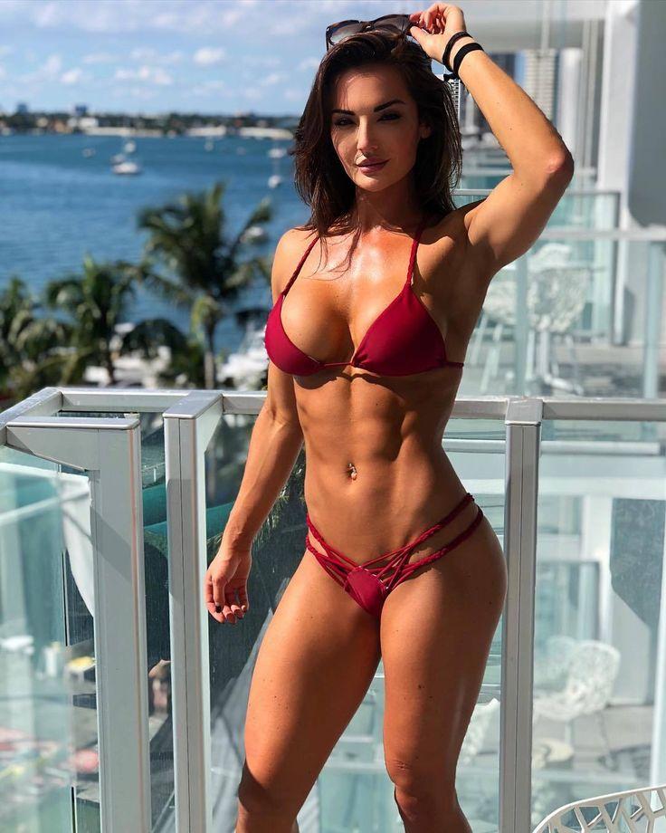 Sexy Female Fitness Bikini Motivation Newbienudes 1