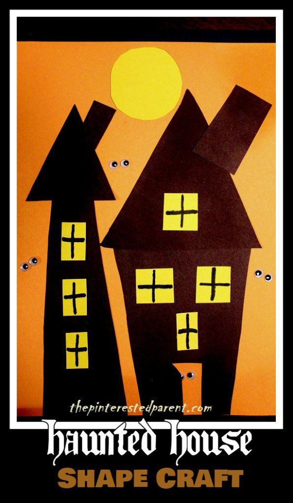 haunted house craft 309 best images on crafts 2161