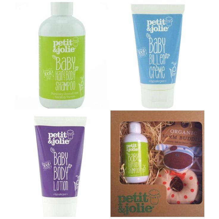 De pure, natuurlijke babyproducten van #Petit&Jolie vind je op www.nutur.nl