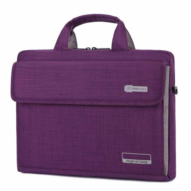 Gender: Unisex Pattern Type: Solid Brand Name: Brinch Style: Fasion Type: Laptop Briefcase Material: Nylon Package: Yes Applicable Models: Macbook Pro 15-inch Closure Type: Zipper Style: Shoulder Bags