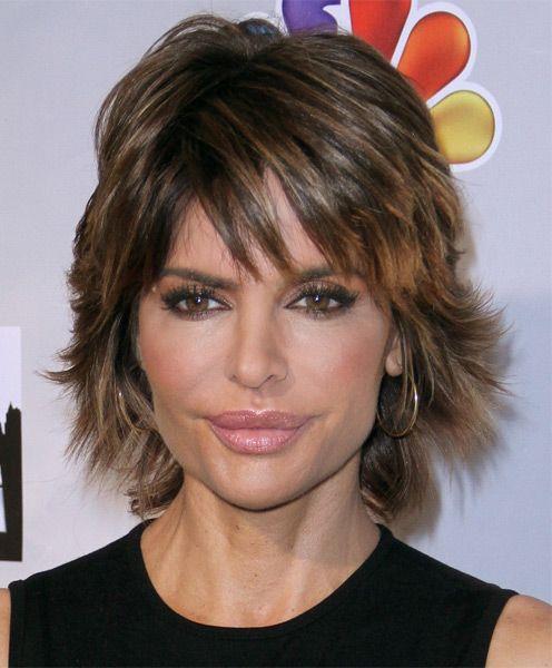 Lisa Rinna Haircut: Sexy Layered Razor Cut for Thick Hair ...
