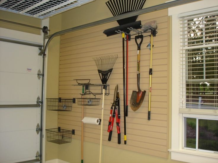 Garage Wall Organization Ideas