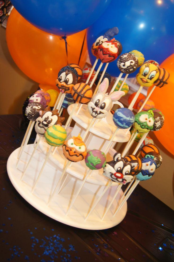 Space Jam Looney Tunes cake pops full frontal #spacejam #cartoons #monstars #looneytunes #tweetybird #tweety #daffyduck #bugsbunny #Sylvester #roadrunner #monstars #galaxy #baker  #cakedecorator #cakeart #cakeartist #cakes #cakepops #cakepop #chocolate #cakeballs #chef #desserts #delish #delicious #dessert #edibleart  #foodjunkie #foodie #sweets #treats #food #foodgasm #foodlover #foodjunkie #sweet #tasty #yummy #yum #SpaceJamcakepops #Looneytunescakepops