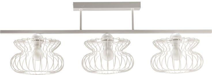 Lampa sufitowa VALENTINA 3 w stylu industrialnym dostępna na naszej stronie www.przystojnelampy.pl   #lampa #sufitowa #lamp #lamps #lampy #oświetlenie #styl #industrialny #industrial