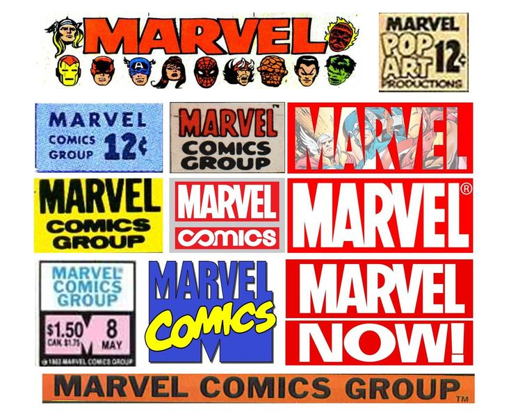 34 best comic branding images on pinterest design logos comic various marvel comics logos and masthead treatments over the years fandeluxe Gallery