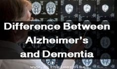Alzheimer's disease and dementia are often used interchangeably as many people believe  that one means the other. In fact, the distinction between the two diseases often causes confusion on the behalf of patients, families and caregivers. Discover how the two diagnoses, while related, are remarkably different. #Typesofdementia