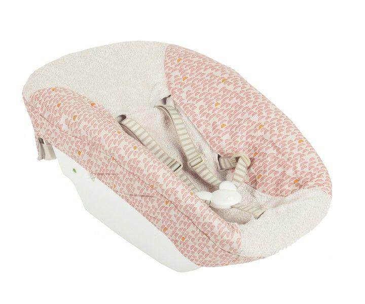 Elegant Trixie Baby Bezug f r Stokke Newborn Set Pebble rosa