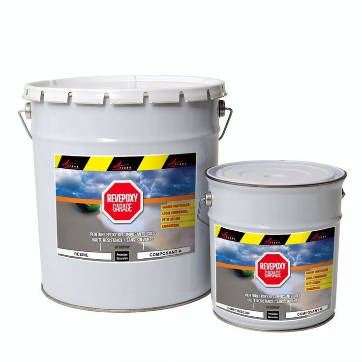 Peinture Epoxy Sol Garage Atelier Revepoxy Garage Blanc Kit 25kg Couvre Jusqu A 80m Pour 2 Couches Arcane In Epoxy Home Remodeling Laminate Flooring