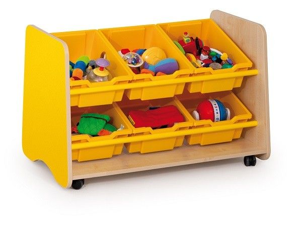 Easy Access Trudy 6 Angled Tray Unit For Classrooms