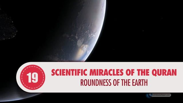 """People used to have serious contradictions about the shape of the earth for centuries and most of them claimed that the earth was flat just like a tray. The roundness of the earth has been verified as a result of logical and mathematical explanations over the last centuries. And after the development of technology, it was also visually proved that the earth was round when man went to space and the moon. In fact, the Qur'an referred to this fact miraculously centuries ago.  """"He created the…"""