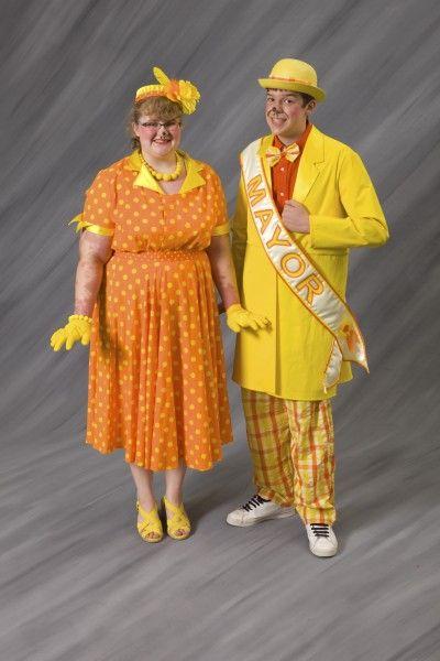Mr and Mrs Mayor