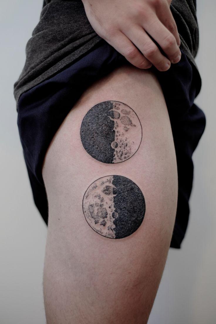 600 best tattoos images on pinterest tattoo ideas ink for Black moon tattoo