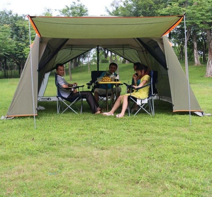 121.40$  Buy here - http://aliny6.worldwells.pw/go.php?t=32384812099 - Rainproof double layer outdoor sun-shading 4Corners garden arbor include floor mat/Awning shelter anti-mosquito camping pergola 121.40$