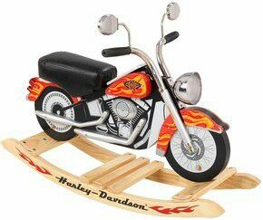 Harley Davidson Roaring Rocker By KidKraft Fun And Fantasy Come Together  With Our New Harley Davidson Roaring Softail Rocker!