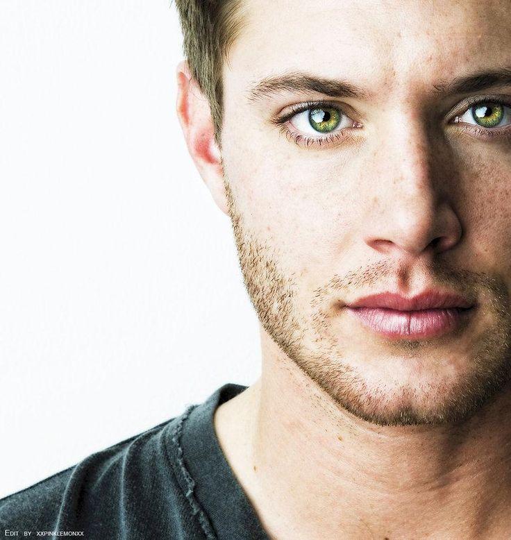Those eyes melt me. Perfection. Jensen Ackles.