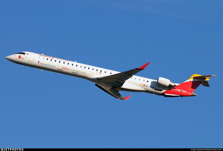 Photo of EC-MJO - Bombardier CRJ-1000 - Iberia Regional (Air Nostrum)