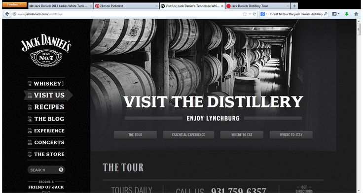 Jack Daniels Distillery Tour Price: FREE!