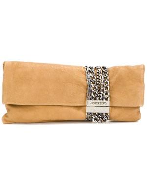 Jimmy Choo 'Chandra' Leather Bag
