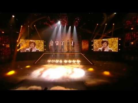 One Direction sing Torn - The X Factor Live Final (Full Version)  I think I heard this song once when I was younger, and I fell in love with it. I still remember the first time I heard that the boys were singing this, I teared up. My childhood + One Direction = everything.<3