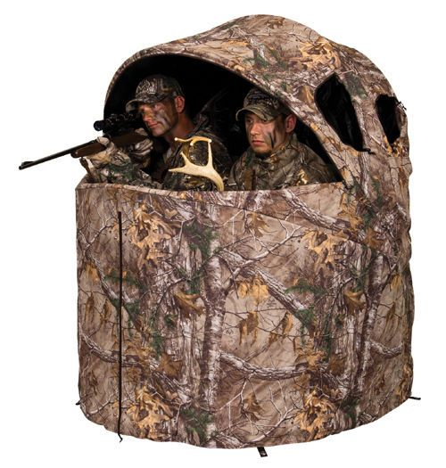 Ameristep AM-1RX2C029 Deluxe 2 man Tent Chair Blind-Real Tree Xtra camo pattern  #AMERISTEP