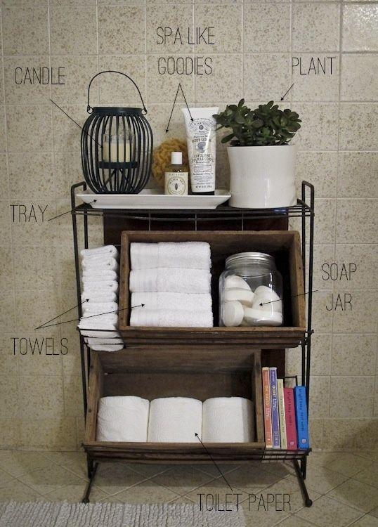 Ordenar Baño Pequeno:Complementos baño / Accesorios de baño: Pequeño #mueble #auxiliar