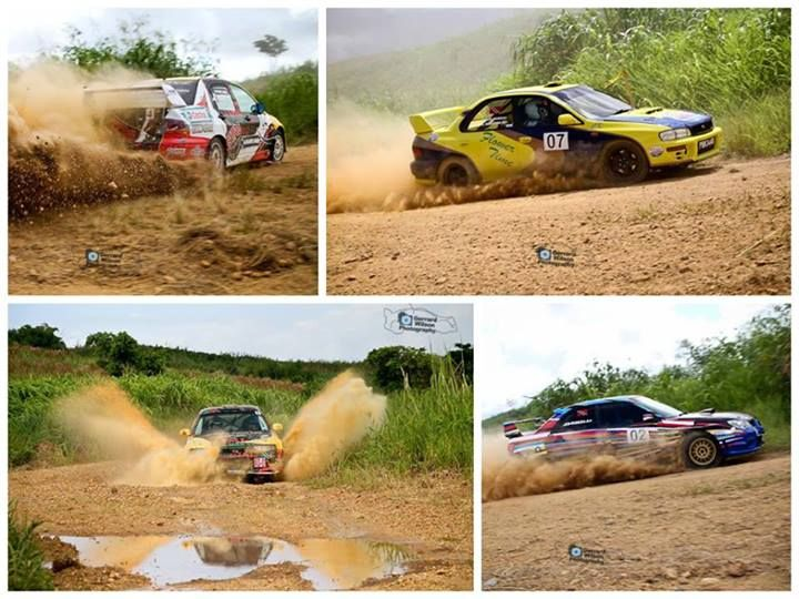 Rally car action, Tarouba
