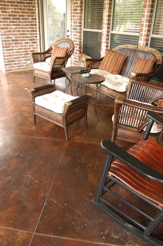 Scored Concrete Flooring : Best images about staining concrete on pinterest