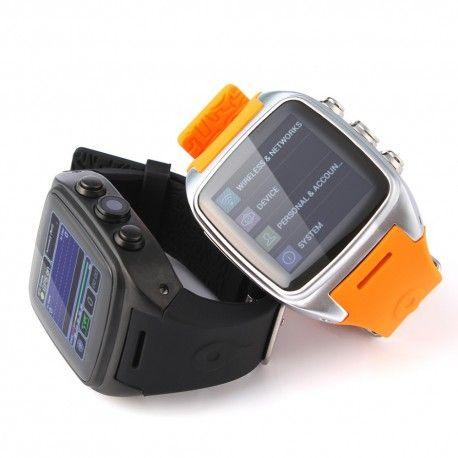 La Super Montre connecté M7 de la marque IMacwear est un 3 G Android 4.4.2 montre telephone connecté qui peut être utiliser comme media player et sport watch.