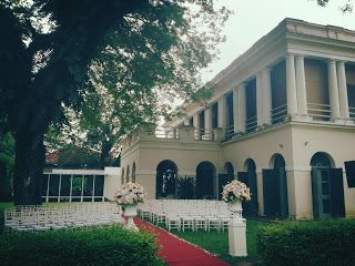Suffolk House Garden Wedding, Penang