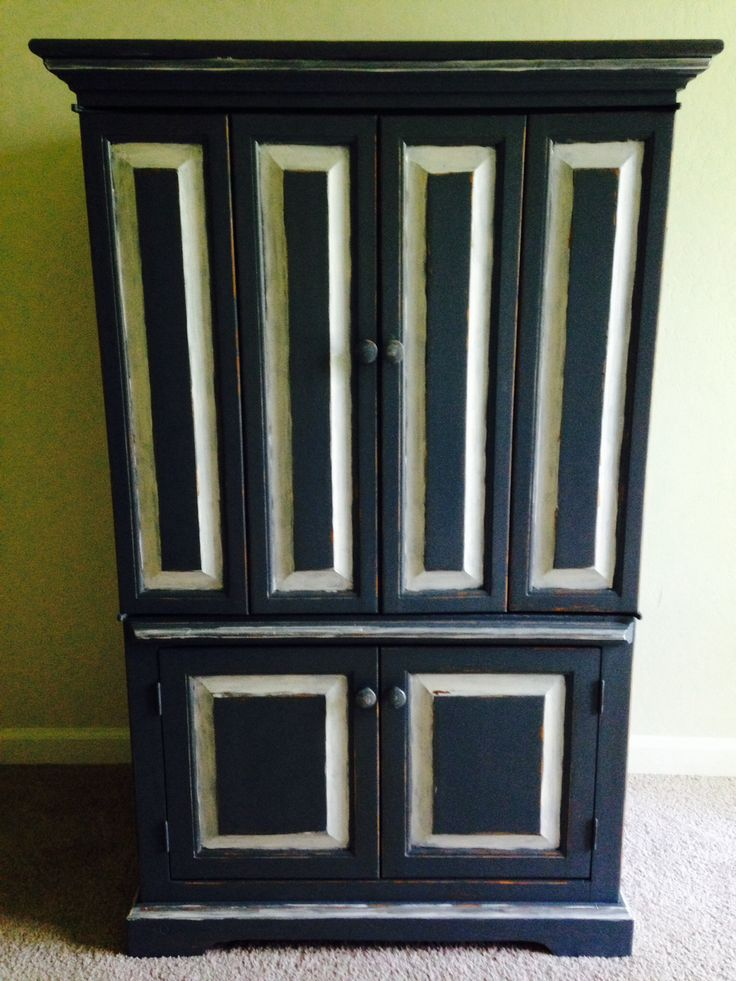 I #refurbished this old #Armoire