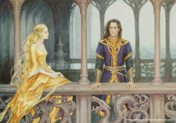 Nargothrond. Turin and Finduilas