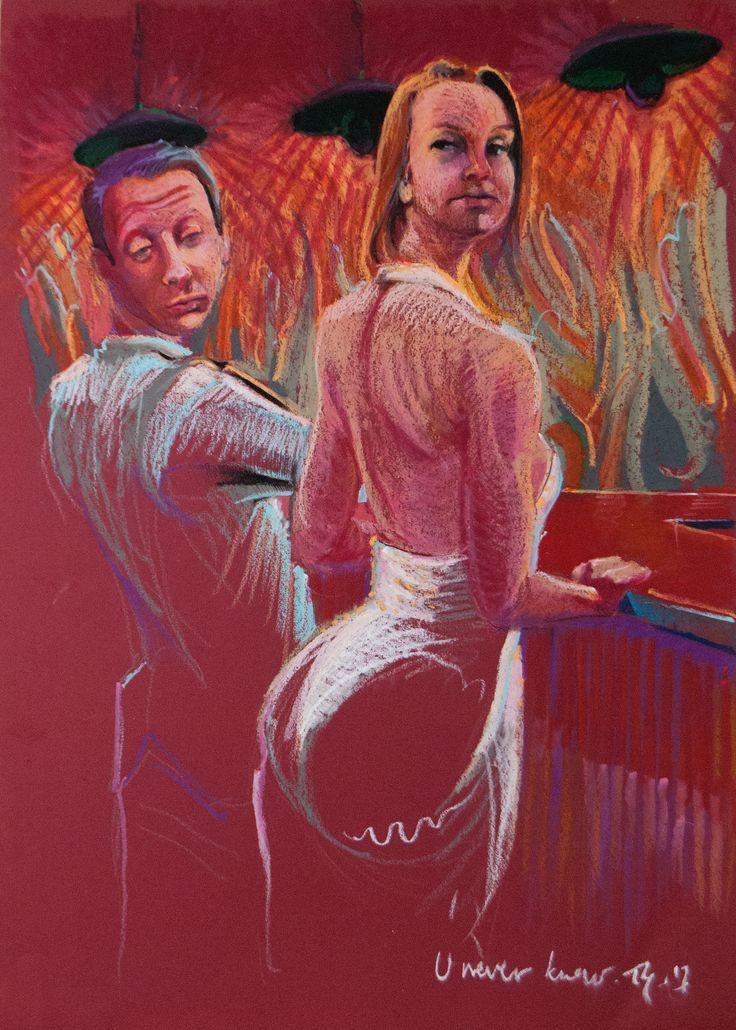 U never know #pastels #artforfun #tybur