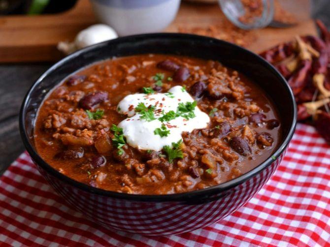 Klasszikus chili con carne recept 13. fázisfotó