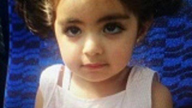 Ontvoerde 2-jarige Insiya waarschijnlijk met vader in buitenland