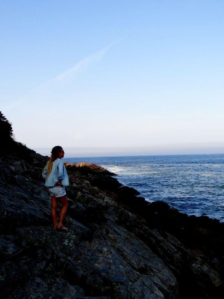 La suite de mon week-end à #Portland dans le #Maine avec #Ogunquit Plage d'Ogunquit, la Normandie près de Portland dans le Maine !