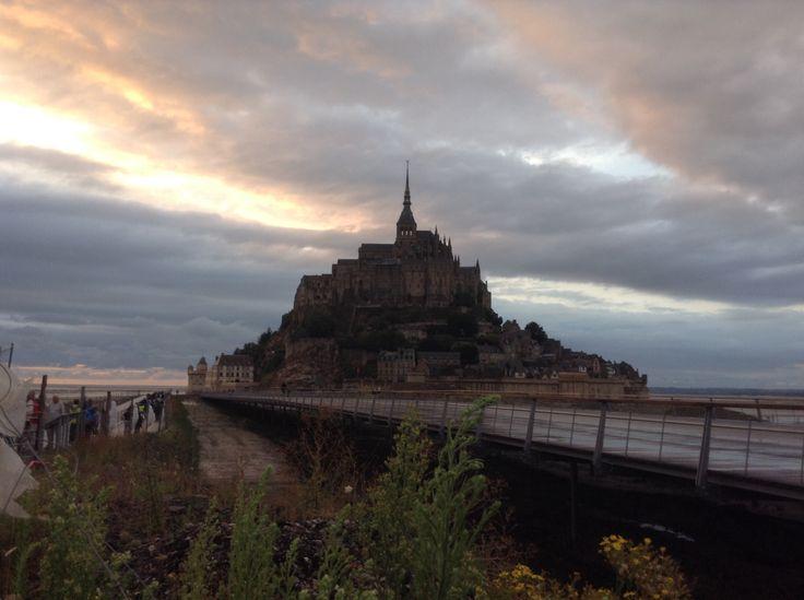 Mont Sant Michel in France