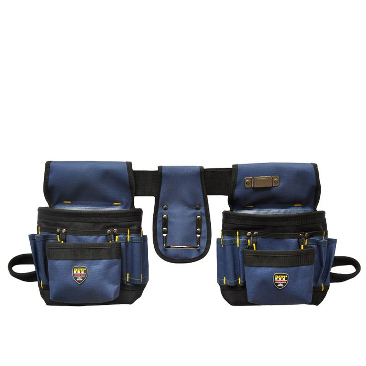 Cinturones de Tela Oxford Bolsa de Herramienta Multifuncional Bolsa de Cintura Bolsas Sin Tapa de Trabajo Electricistas