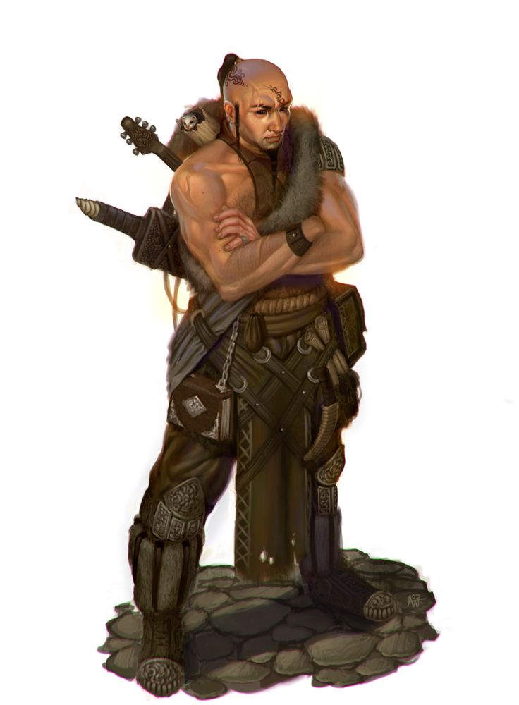 image. Monk bard of the mongoose