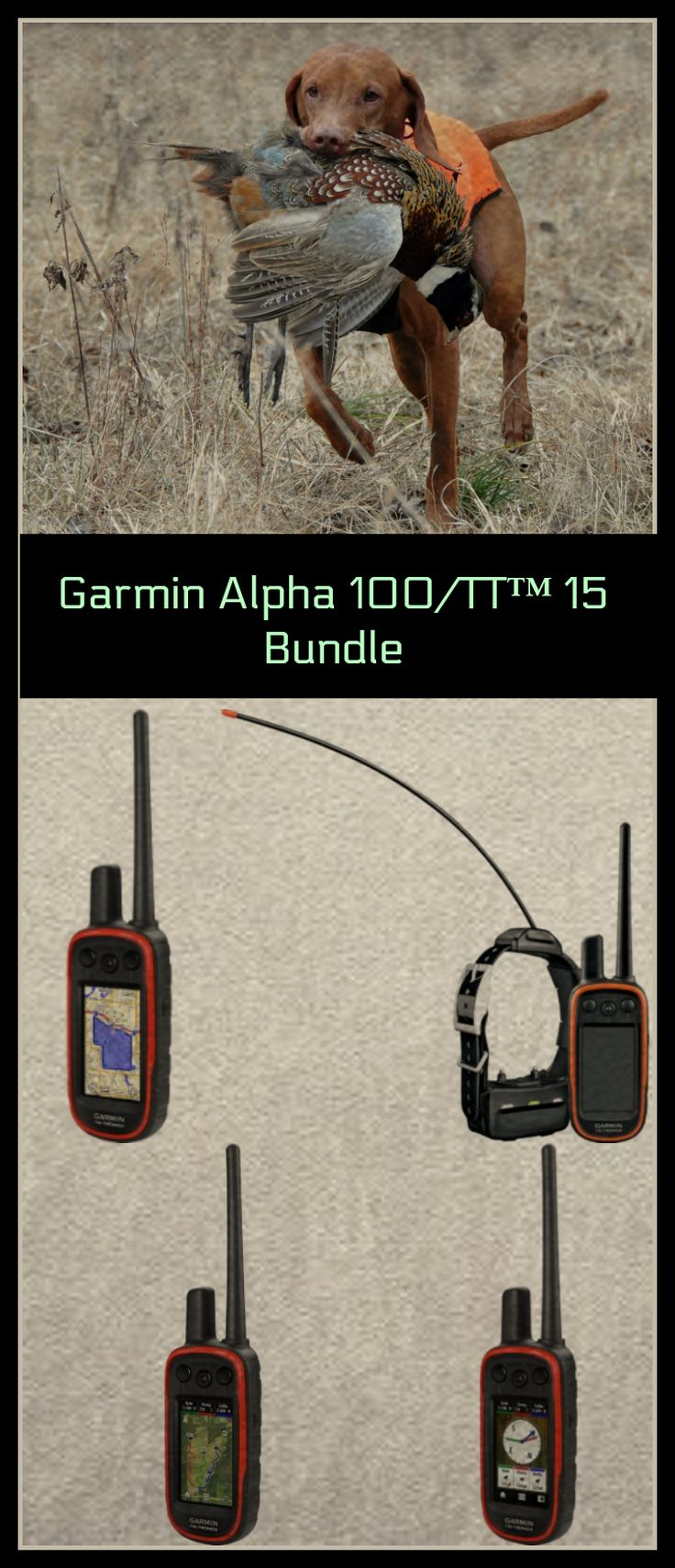 Garmin Alpha Dog Training Bundle. Get your Best Friend Ready For Your Next Big Hunt. Dog Training Can Make Or Break Some Hunts, So Set Your Best Friend Up For Success. | Hunting | Dog Trainer | #ad