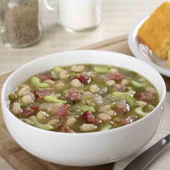 Bill Knapp's Recipe for Navy Bean Soup With Ham