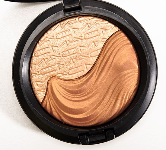 $30 MAC Double Definition Extra Dimension Skinfinish Review, Photos, Swatches