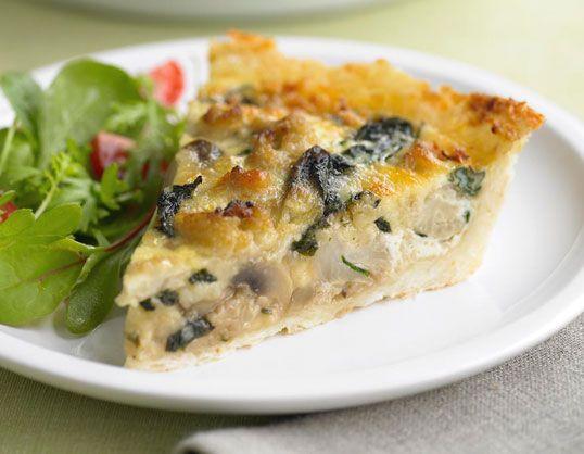 Cauliflower-Cheese Pie with Grated Potato Crust #cauliflower #cheese #yum