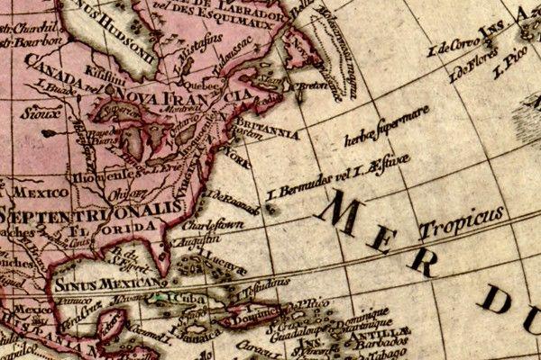 Mapa Świata - Stare mapy - Obrazy na płótnie -obrazy na ścianę