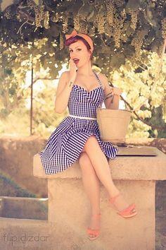fiesta con la moda de años 50 vestidos pin up - Buscar con Google