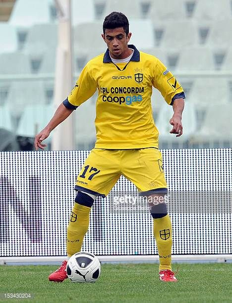 William Lacerda Nascimento of Modena in action during the Serie B match between SS Virtus Lanciano and Modena FC at Adriatico Stadium on September 29...