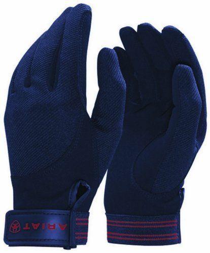 Riding Gloves 95104: Ariat Unisex Tek Grip 7 R Navy Horse Riding Glove, New -> BUY IT NOW ONLY: $124.99 on eBay!